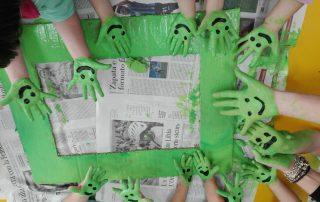 Le mani che colorano - Scuola Infanzia Villastanza